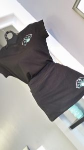 Second Sun Tanning Ladies V neck fitted shirts only $20.